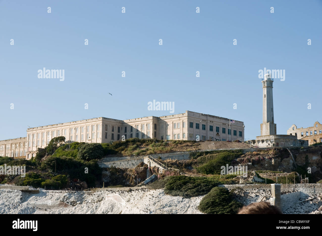 Alcatraz island - Stock Image