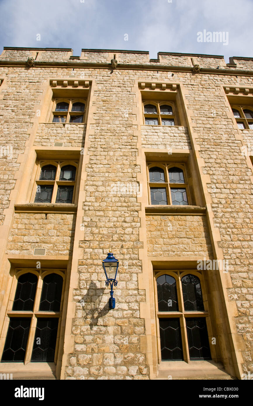 Tower of London building - Stock Image