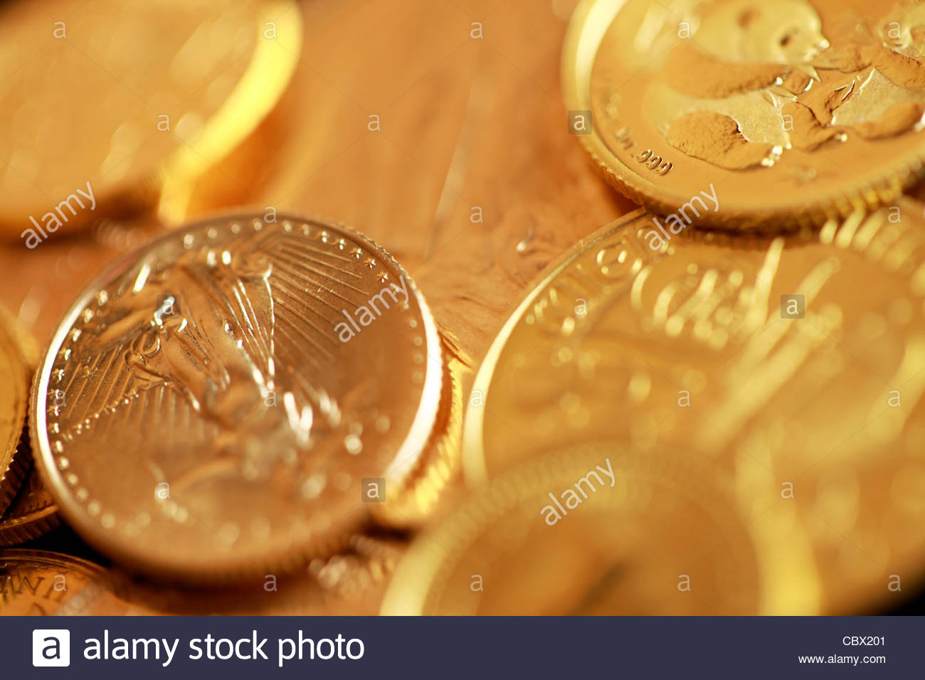 Gold - Stock Image