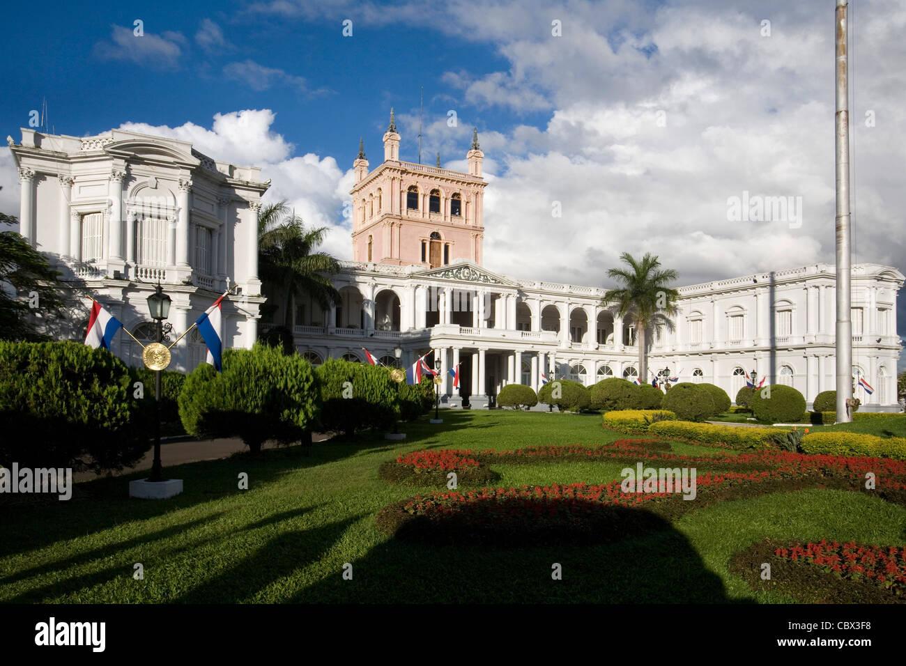 Government palace Asuncion, Paraguay - Stock Image