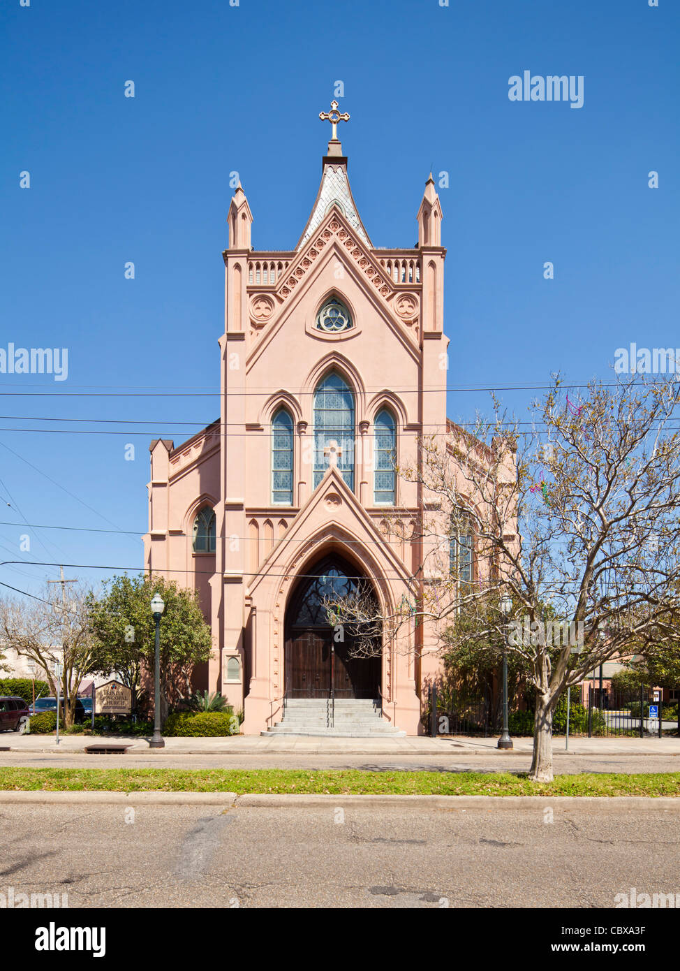 Trinity Episcopal Church, New Orleans - Stock Image