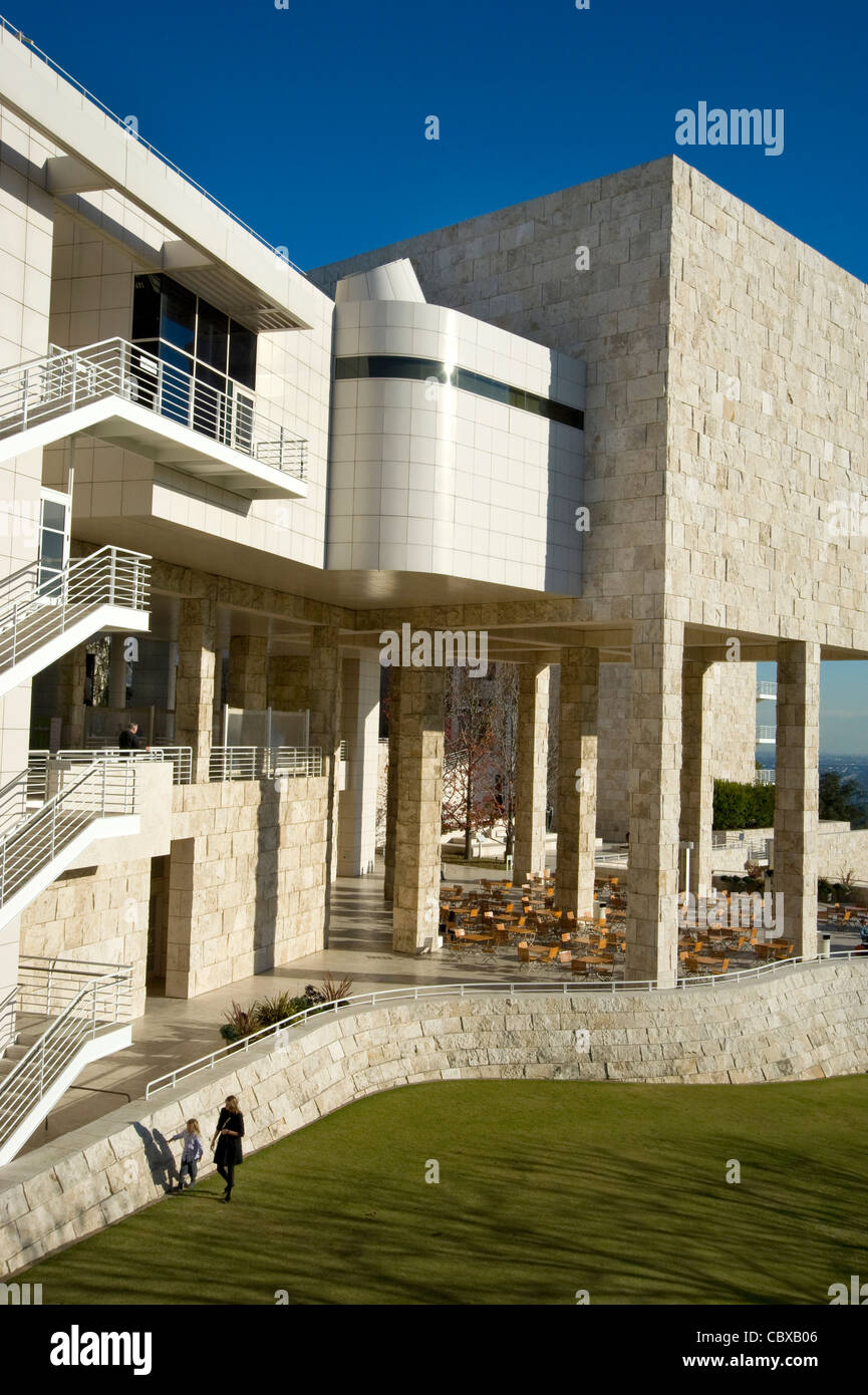 The Getty Center - Stock Image