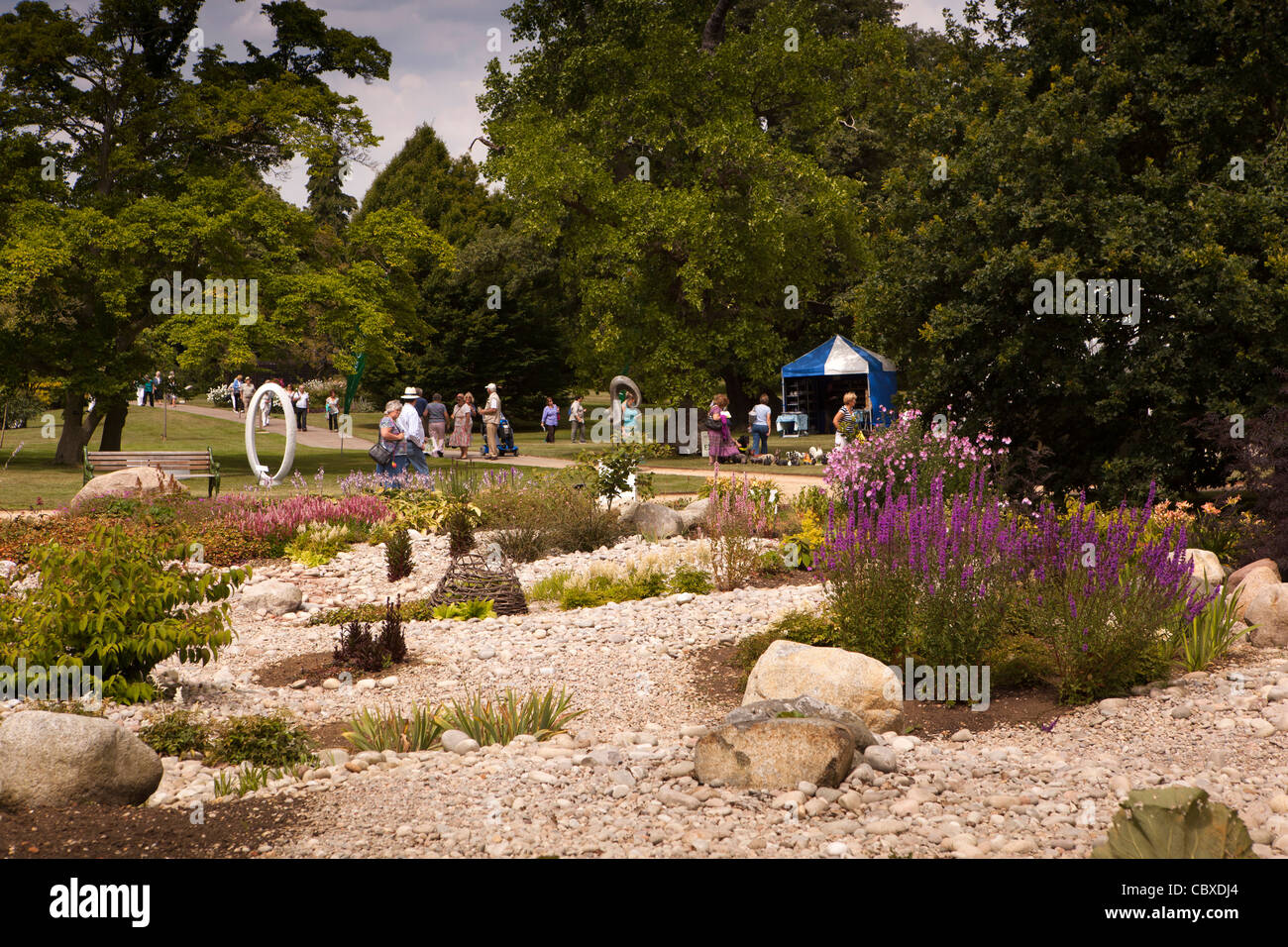 Woburn Abbey Garden Show Stock Photos & Woburn Abbey Garden Show ...