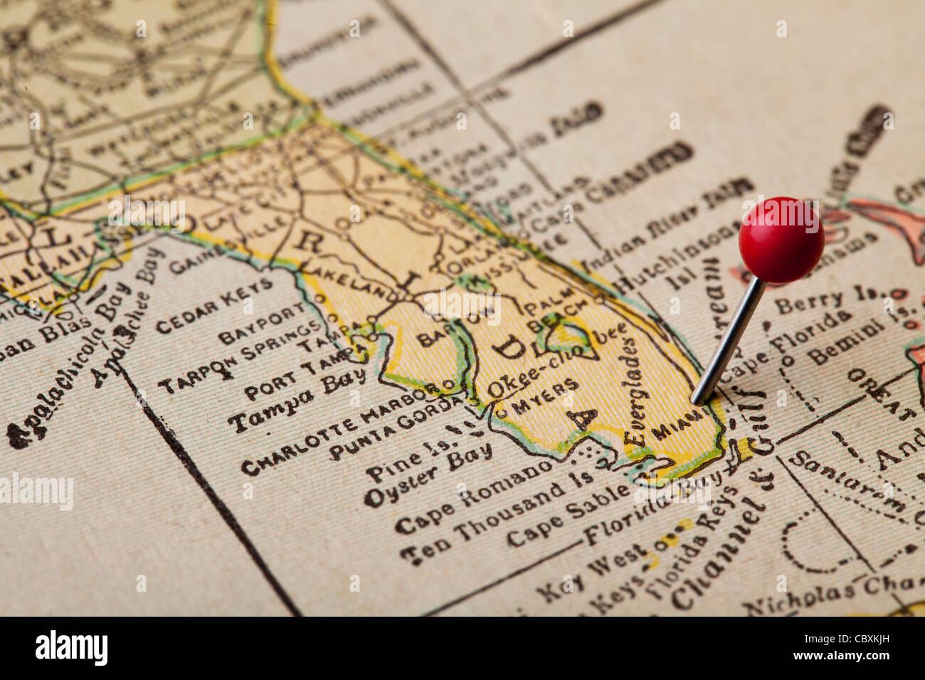 Map Of Florida Bay.Florida Bay Map Stock Photos Florida Bay Map Stock Images Alamy