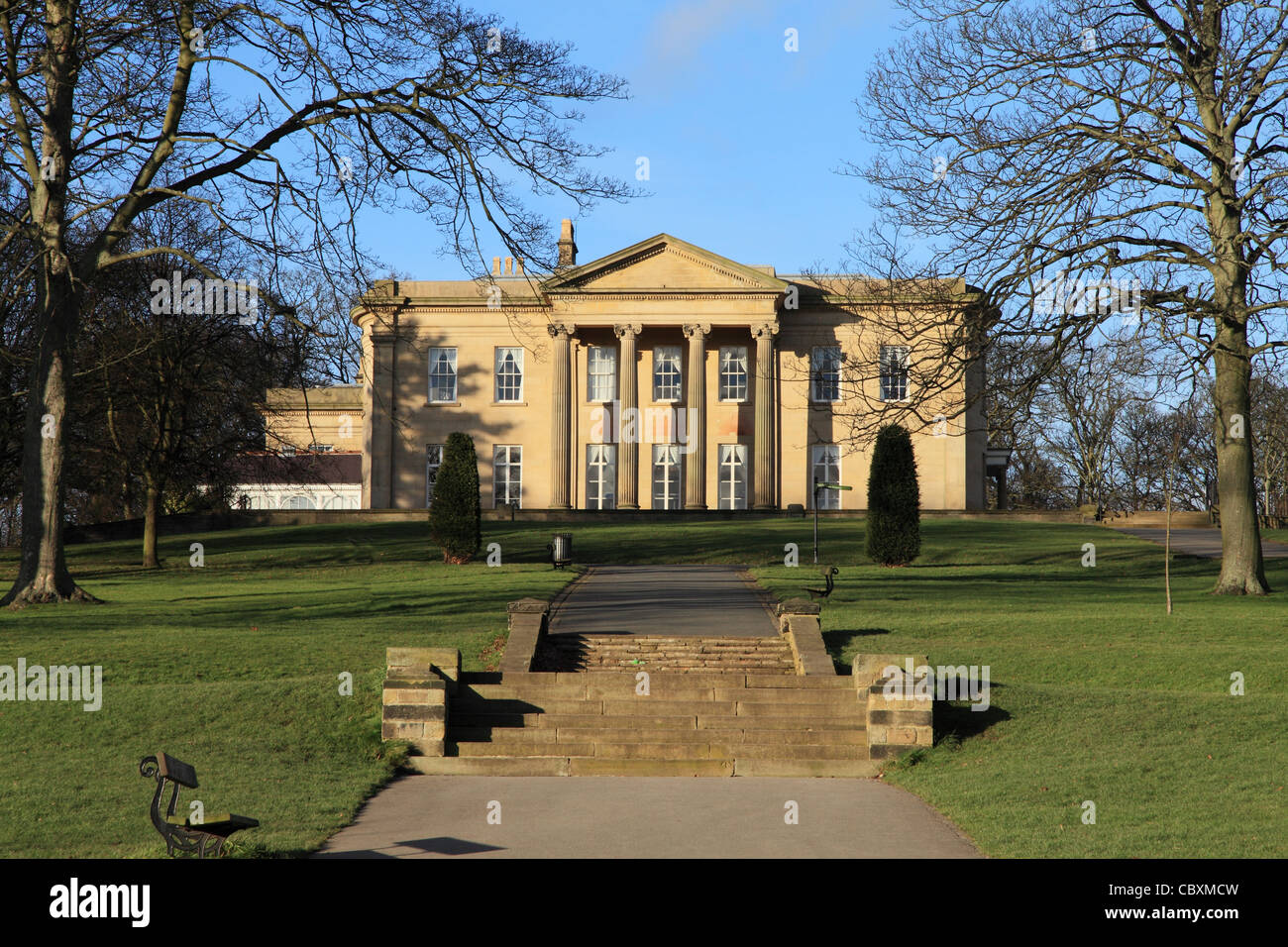 The Mansion, Roundhay Park, Leeds Stock Photo