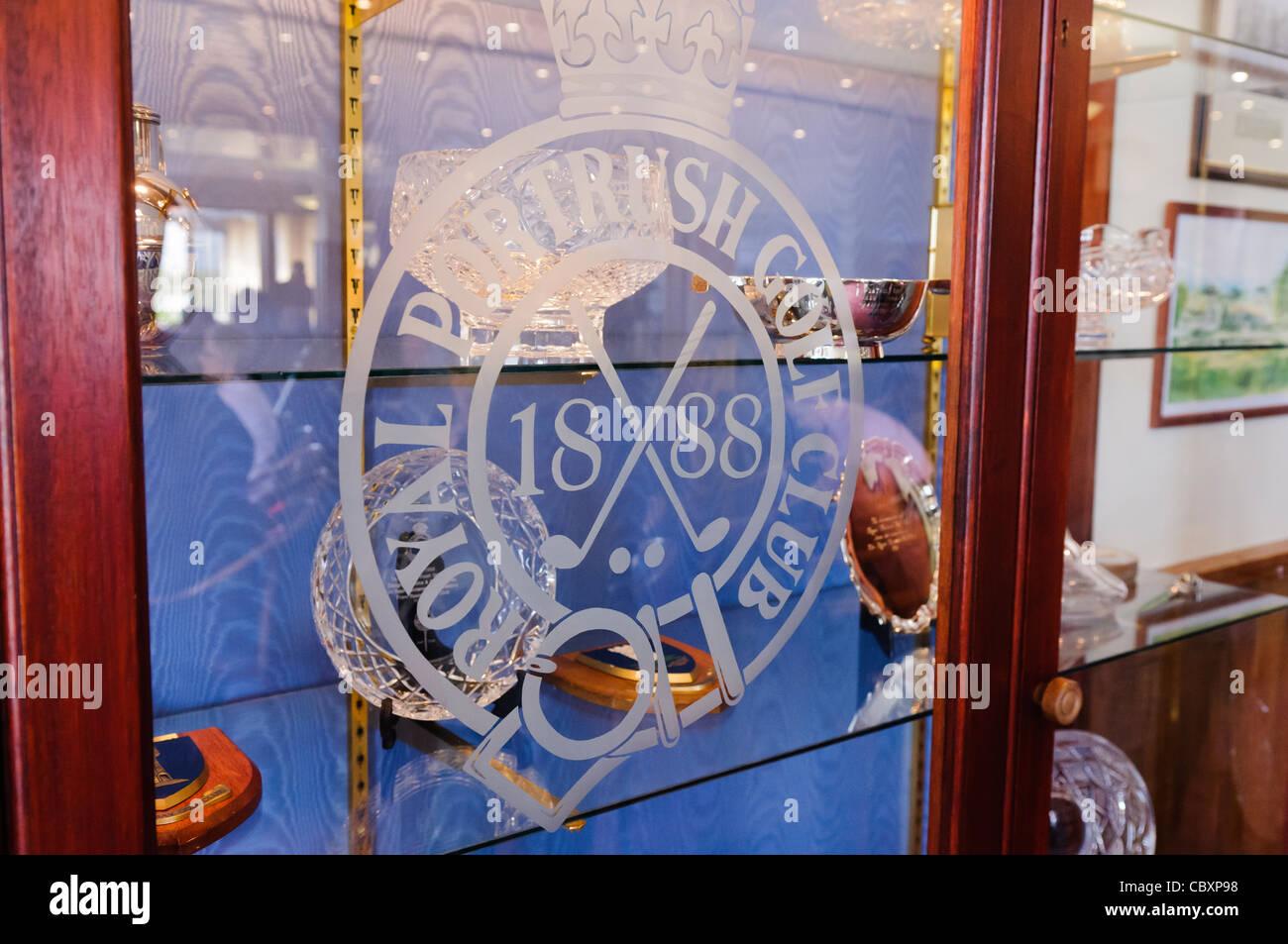 Trophy Cabinet At Royal Portrush Golf Club