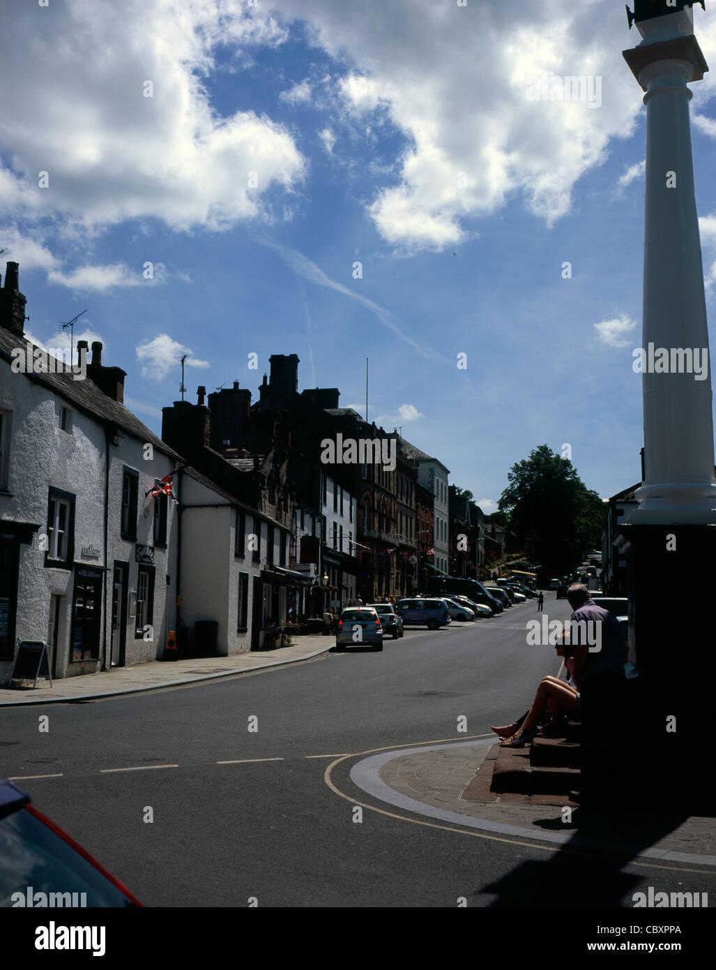 Boroughgate Appleby-in-Westmorland Cumbria England - Stock Image