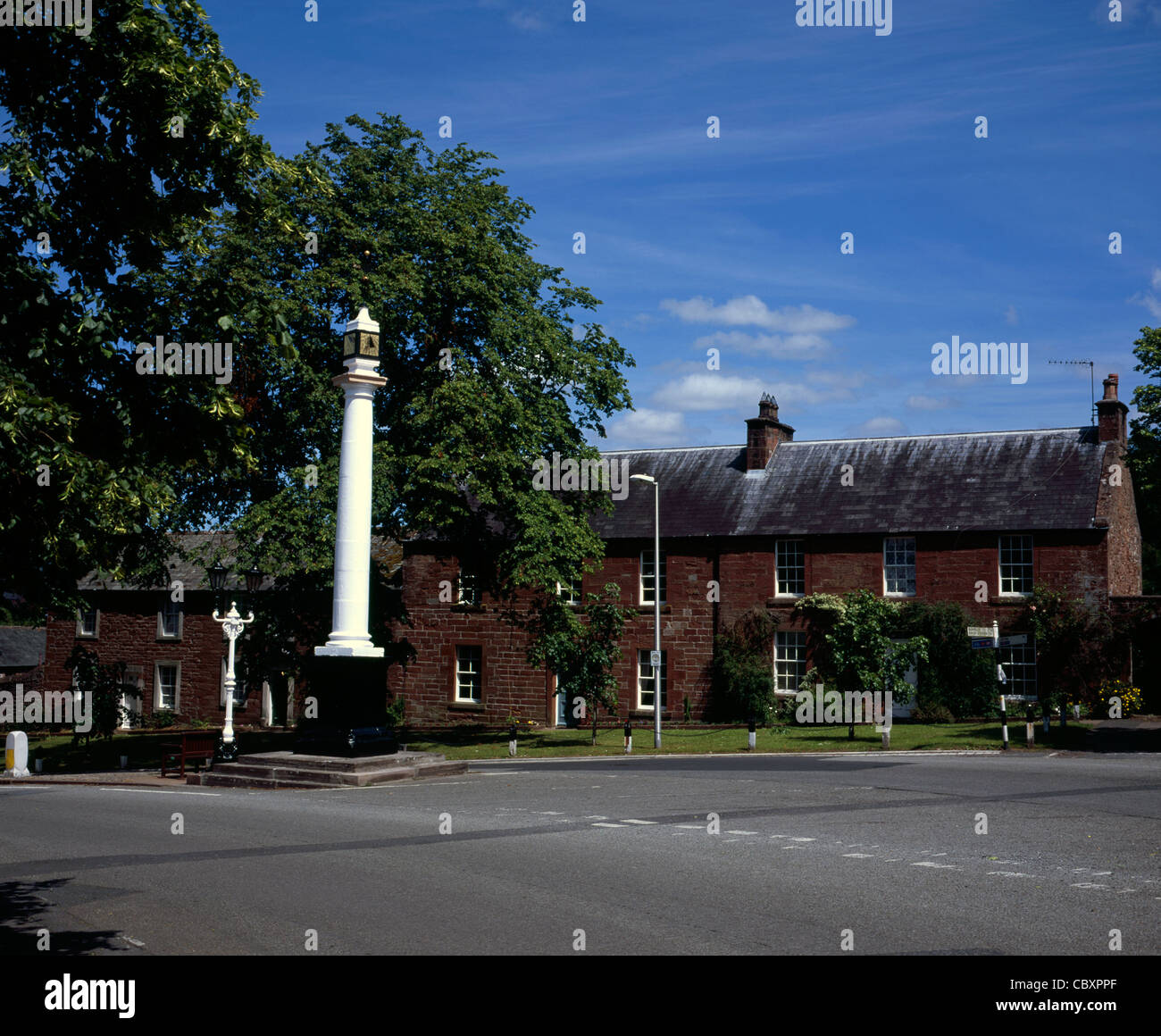 The High Cross Boroughgate Appleby-in-Westmorland Cumbria England - Stock Image