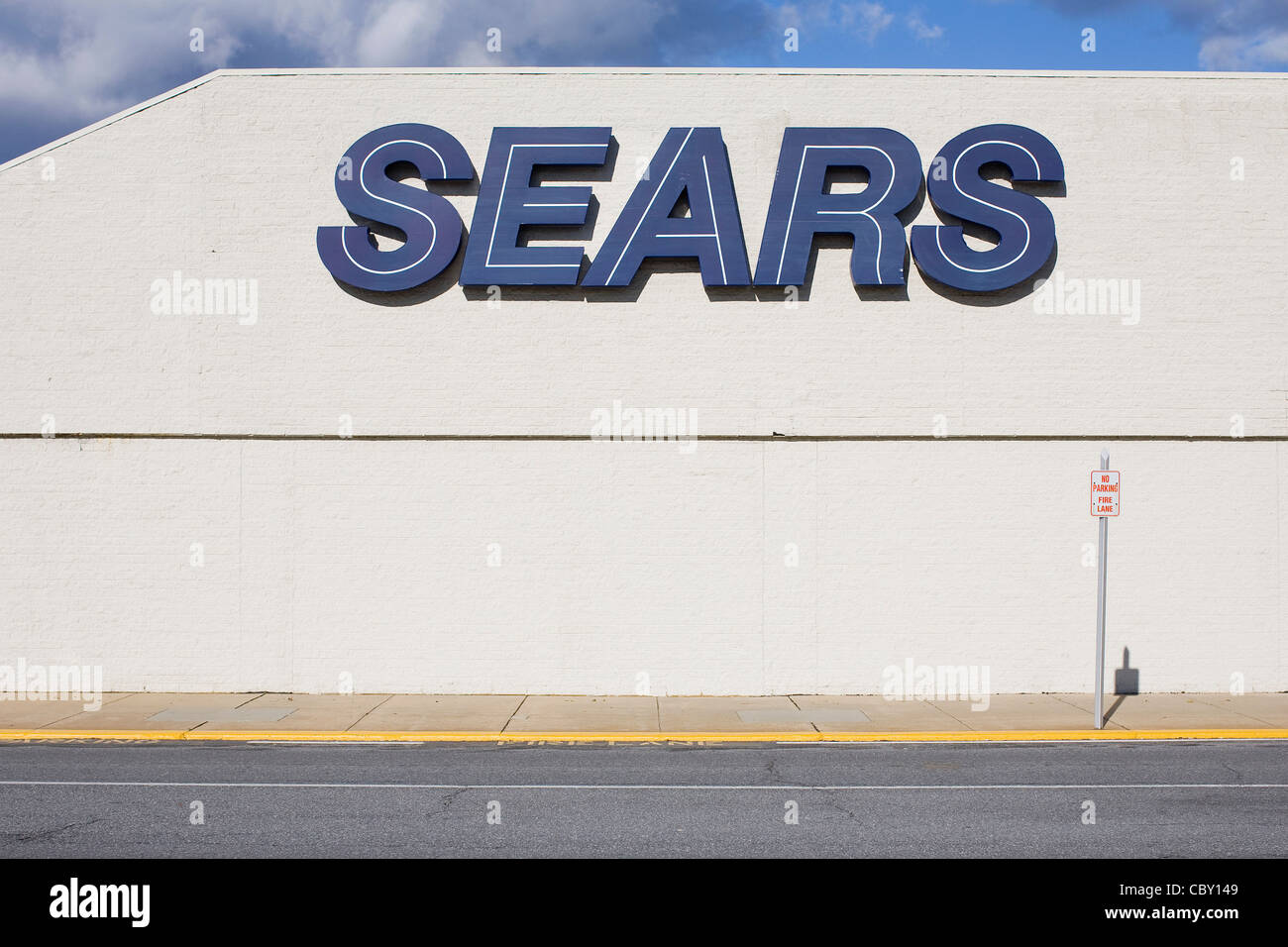 A Sears retail store.  - Stock Image
