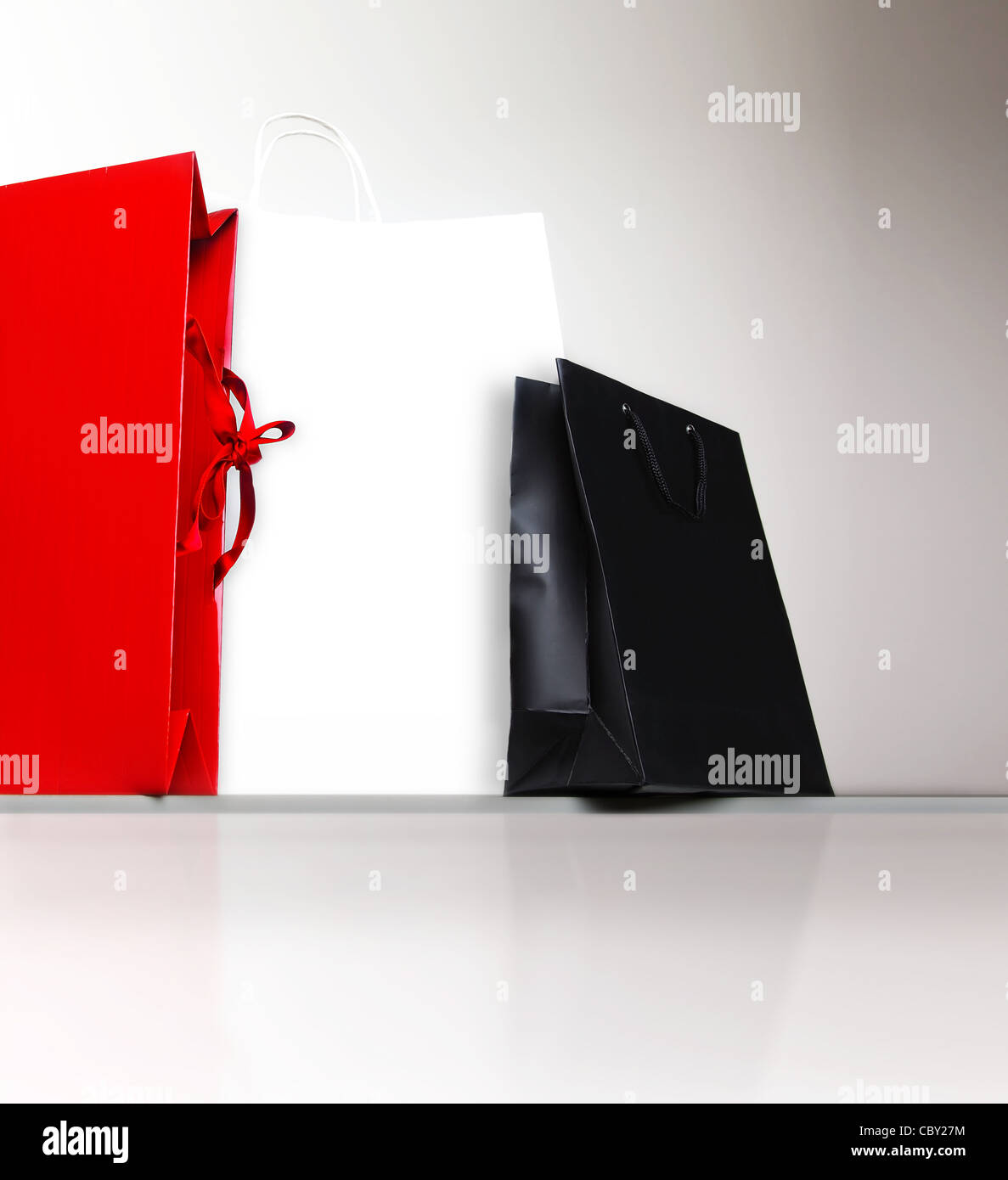 Shopping bags, gifts and presents, holiday shopping lifestyle, spending money concept - Stock Image