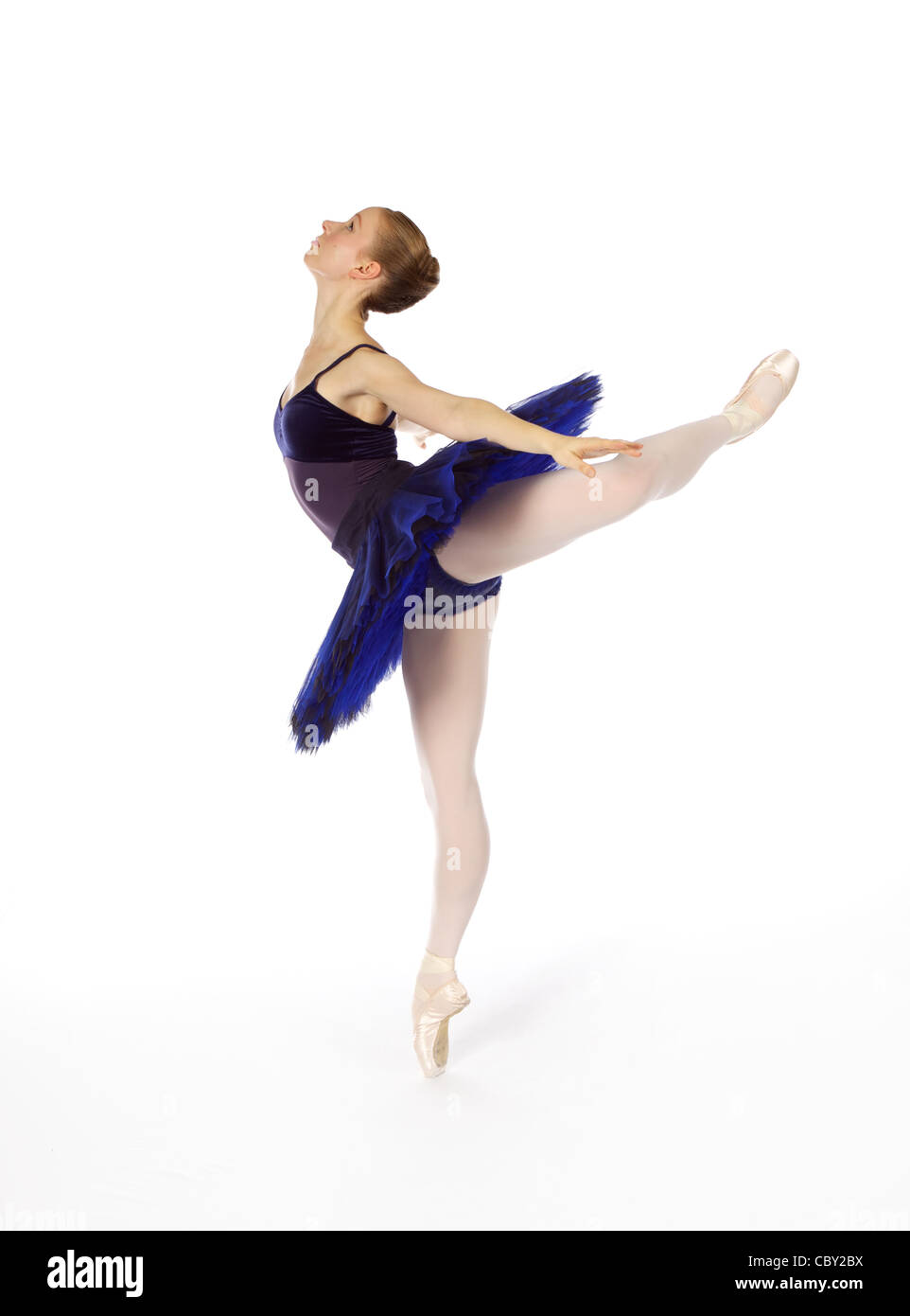 Female classical dancer - Stock Image