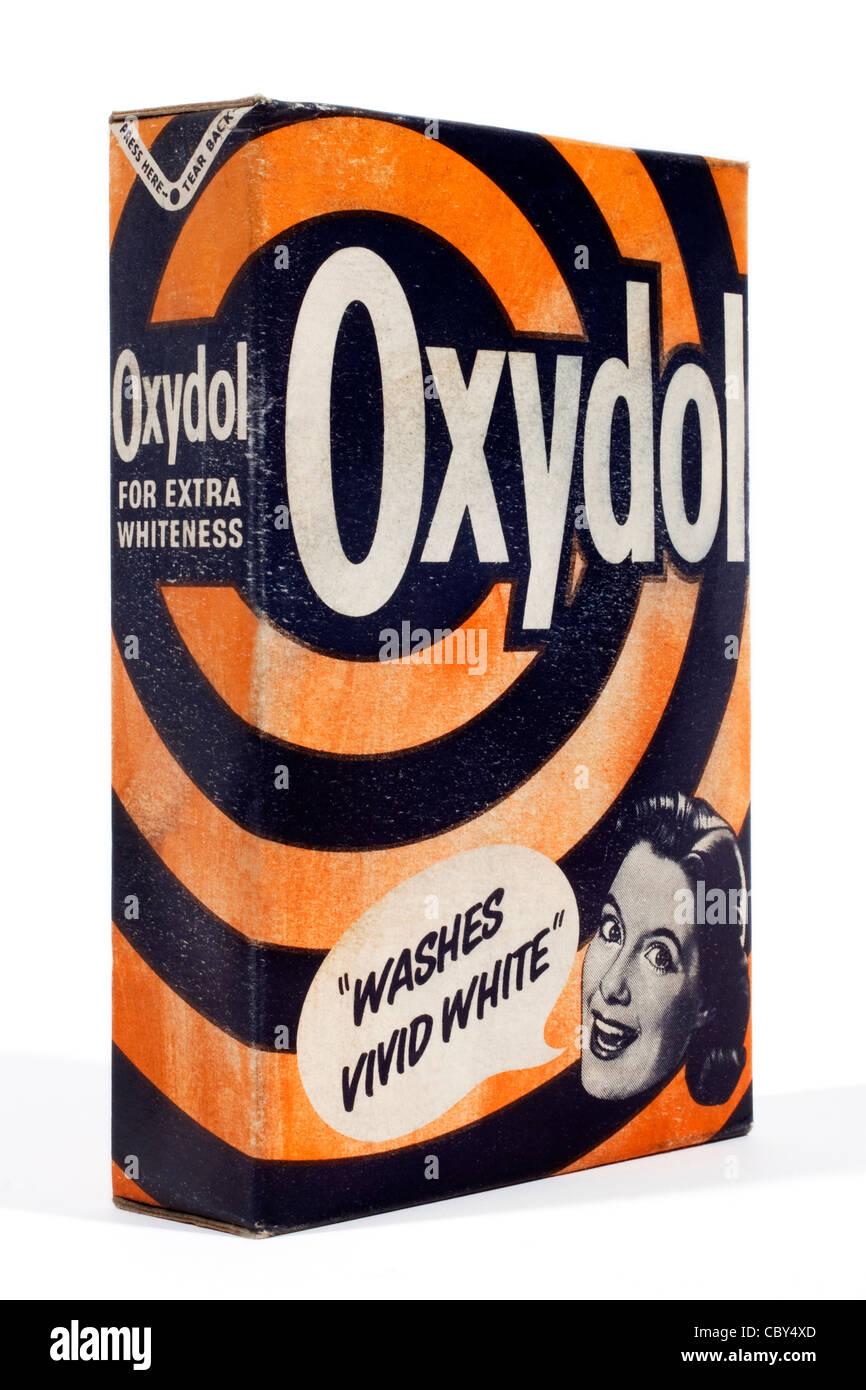Early Oxydol laundry powder box - Stock Image
