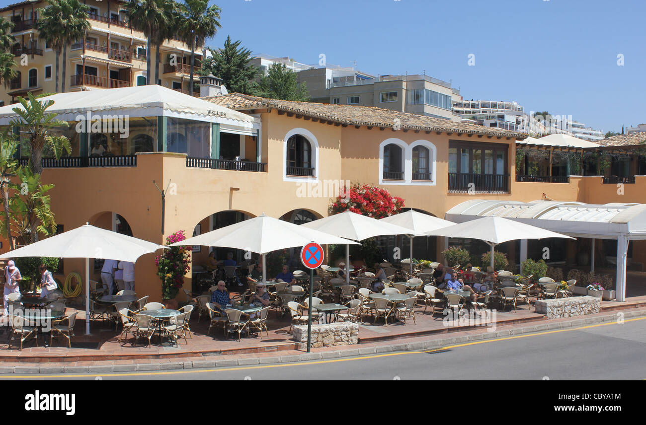 Puerto Portals Marina , Calvia, South West Mallorca / Majorca, Balearic islands, Spain. 9th May 2011. - Stock Image