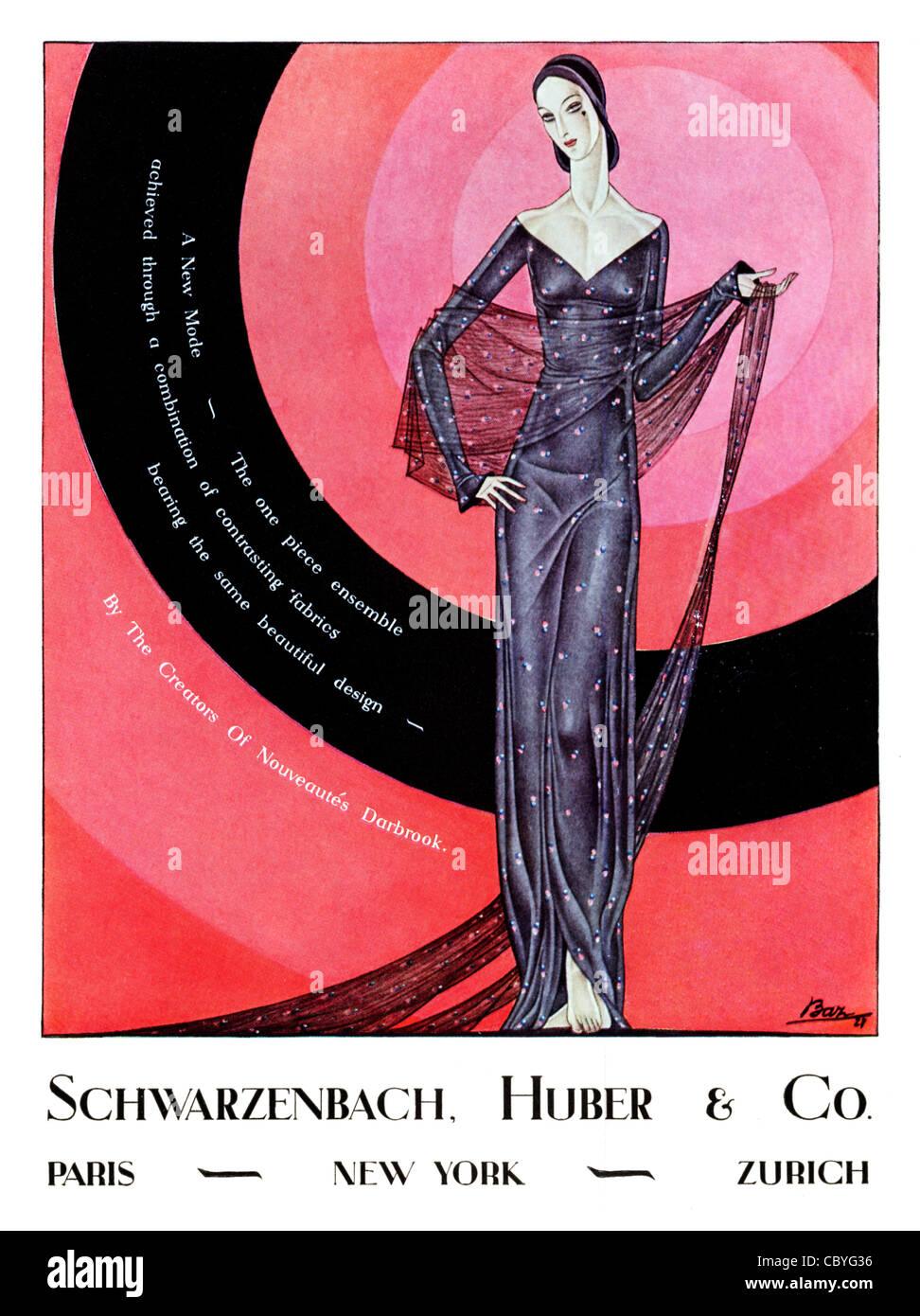 Vintage Fashion Print Original American Antique Poster 1920s American Ad Cigar Smoker Gift Clothesbook 39 Fashion Print Art Deco Art