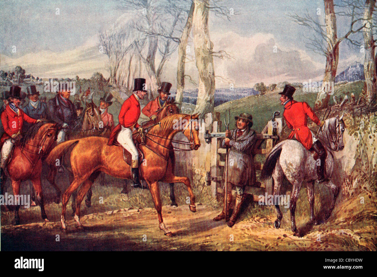Duke of Wellington and Hodge - Stock Image