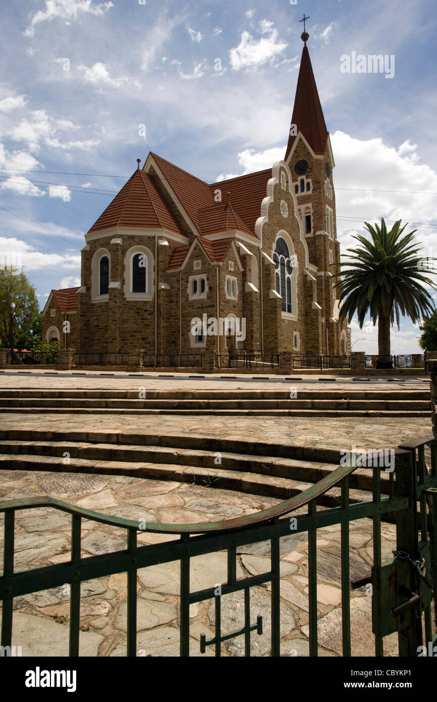 Christ Church - Windhoek, Namibia, Africa - Stock Image