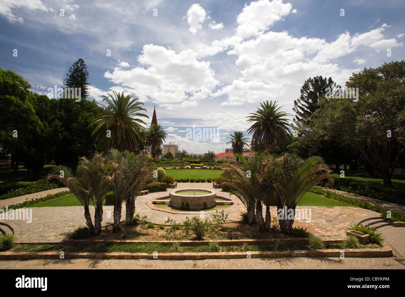 Parliament Garden - Windhoek - Namibia, Africa - Stock Image