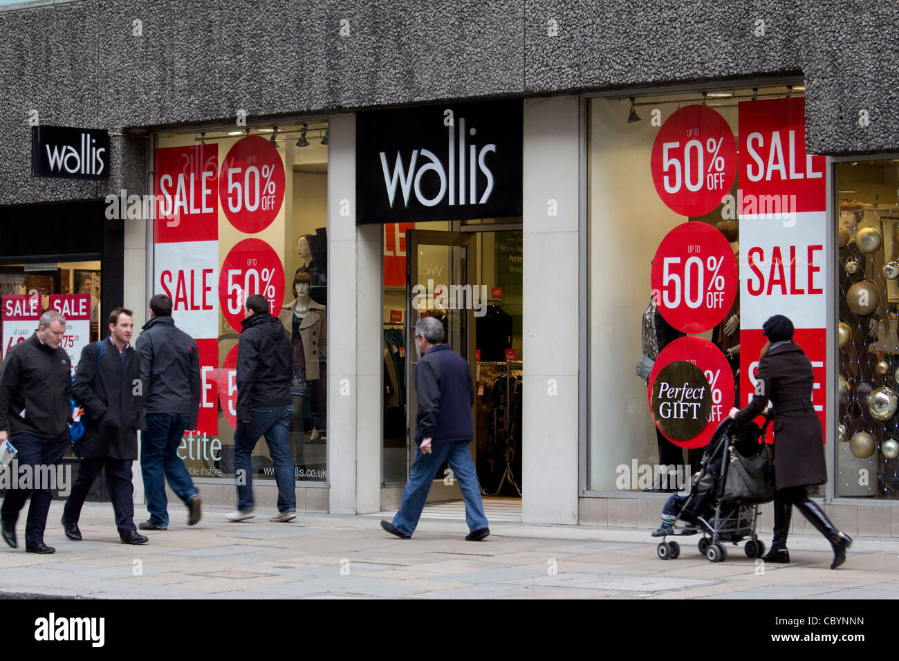 Wallis clothing retail outlet cheapside London - Stock Image