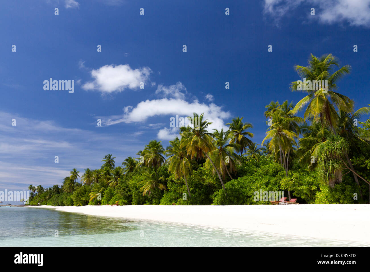 Medhufushi Island In Maldives Stock Photo 41795725 Alamy