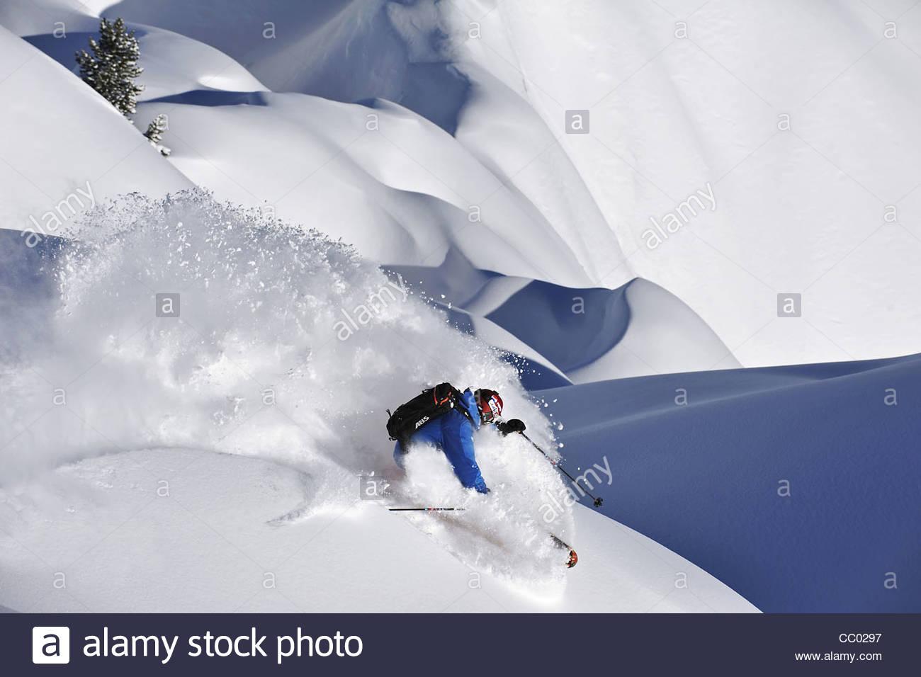 Ski freeride la plagne webcam