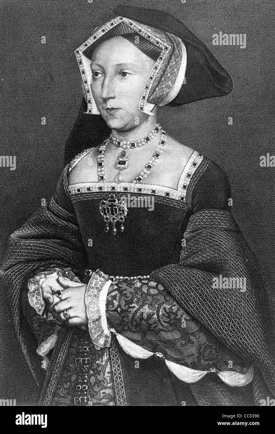 Lady Jane Seymour, afterward queen of Henry VIII - Stock Image
