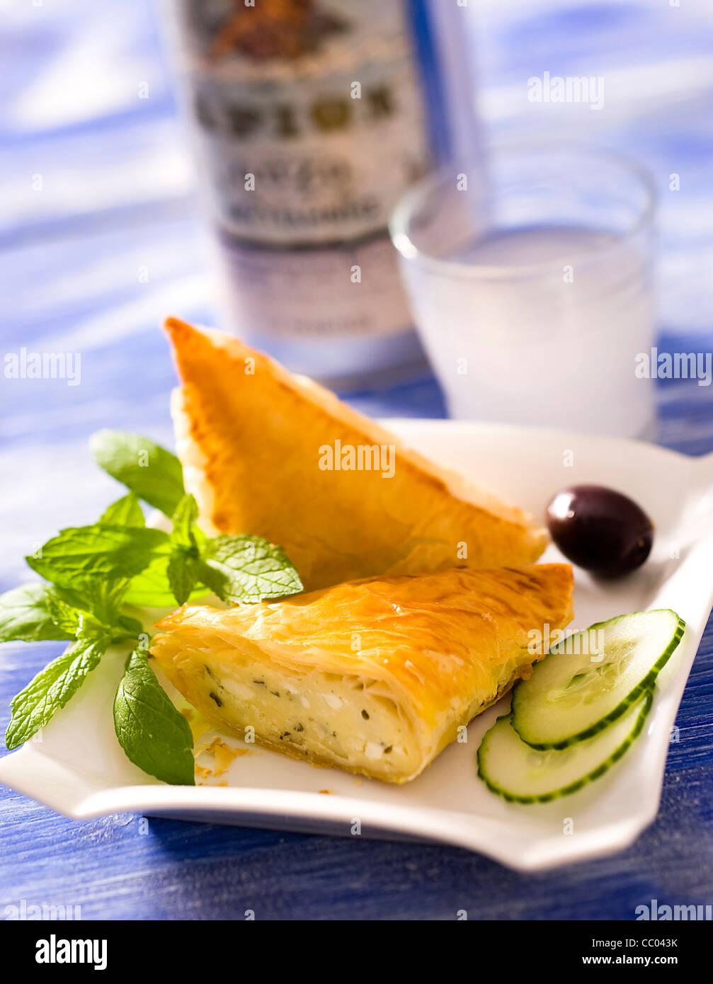 Ewe Cheese Pies - Stock Image