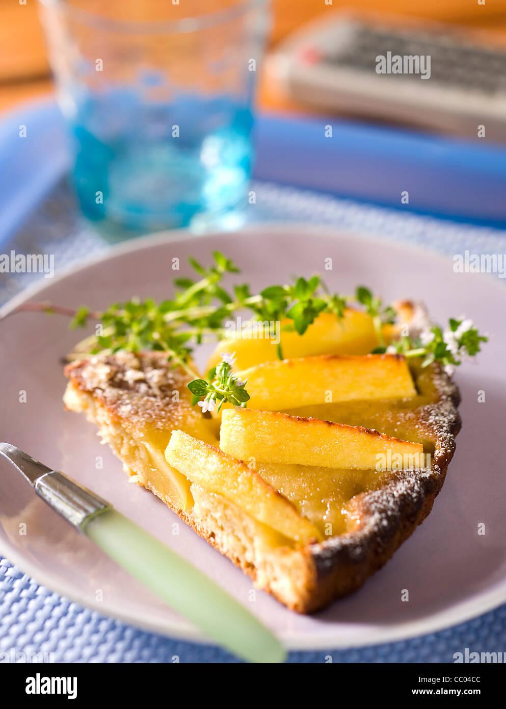 Apple Pie in Brioche Style - Stock Image