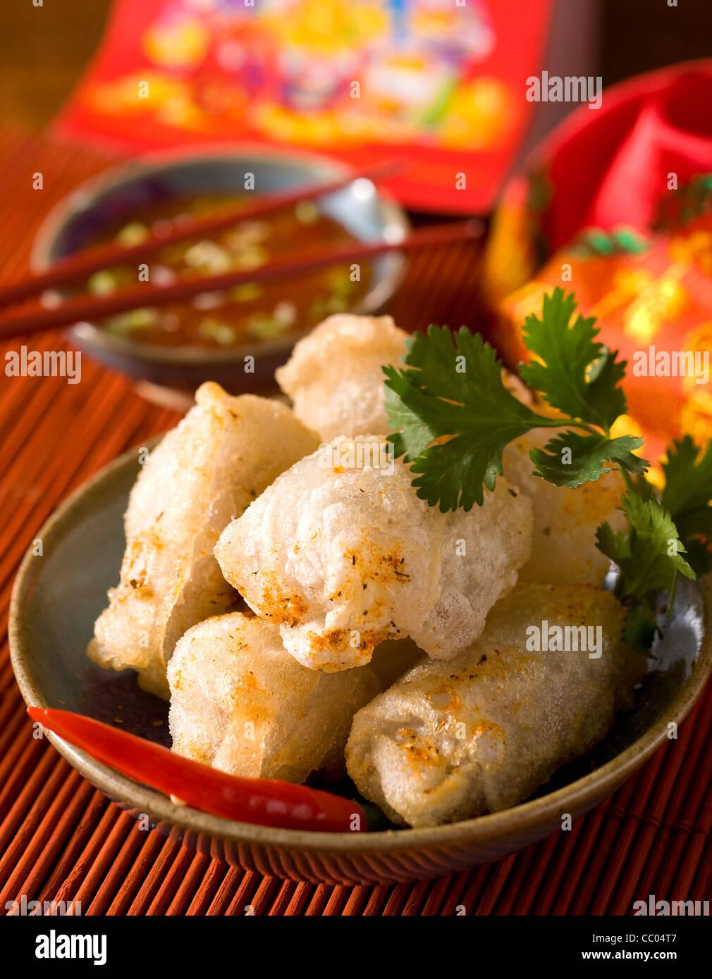 Dim Sum with Crab - Stock Image