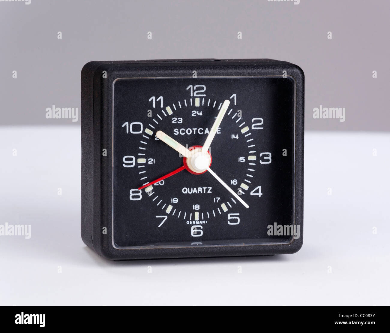 quartz alarm clock - Stock Image