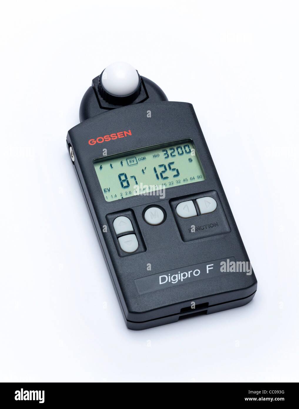 Gossen digital photographic exposure light meter - Stock Image