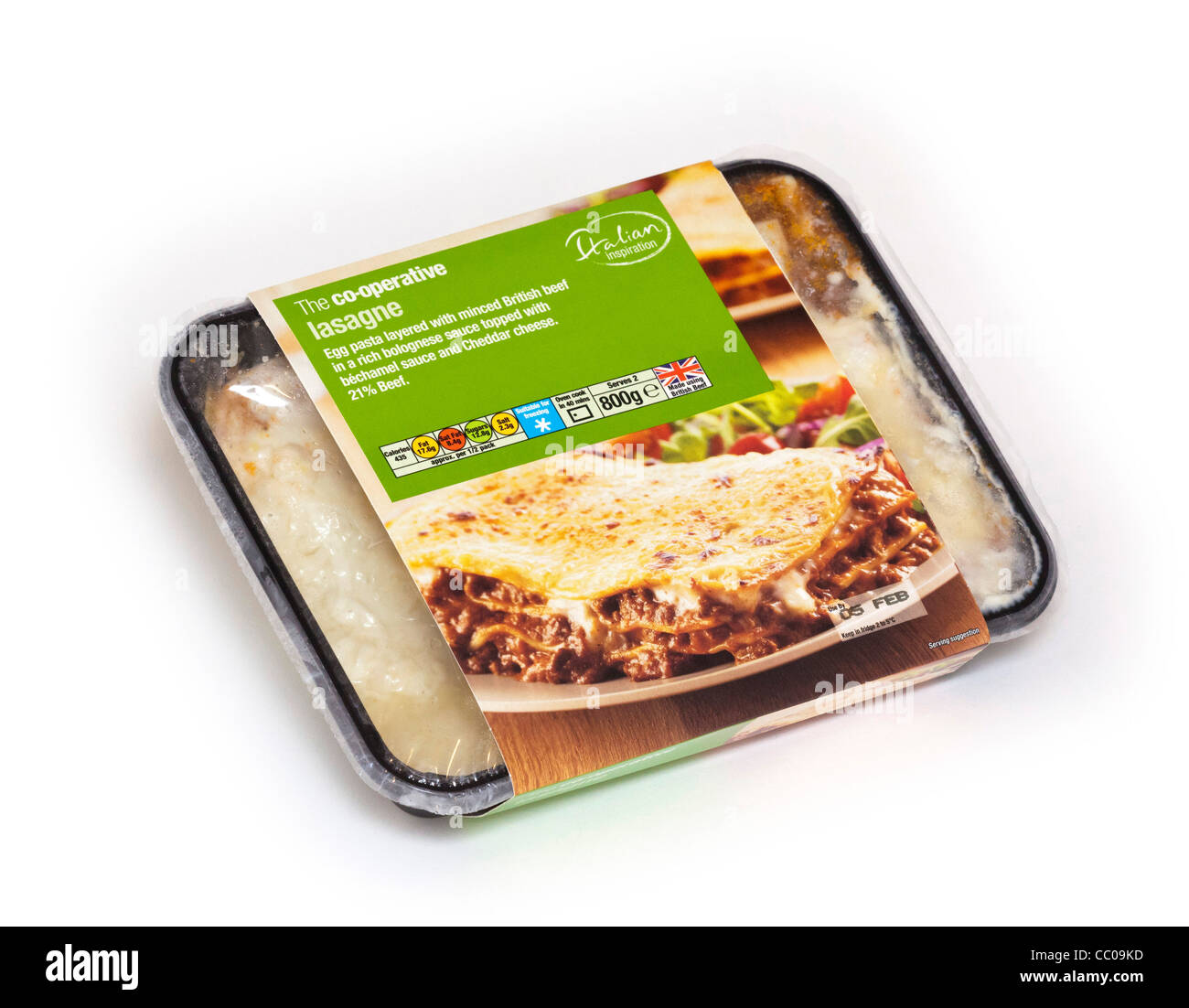ready made meal or 'TV dinner' - Stock Image