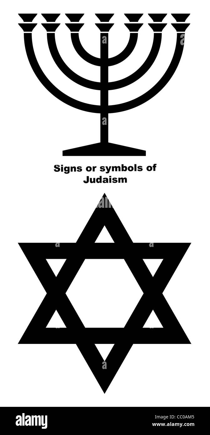 Menorah Black And White Stock Photos Images Alamy