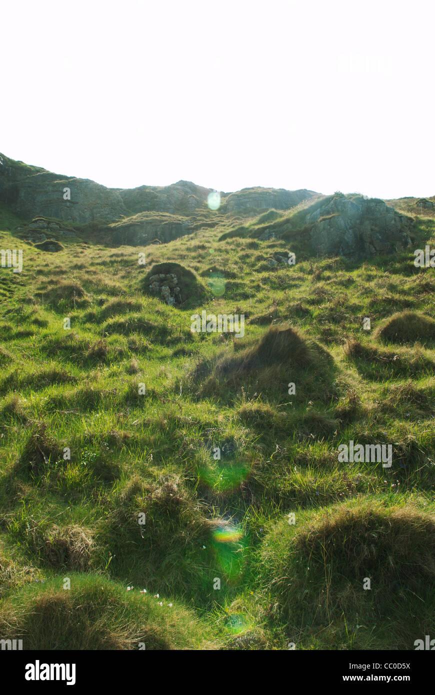 Mountain in Llandudno Wales - Stock Image