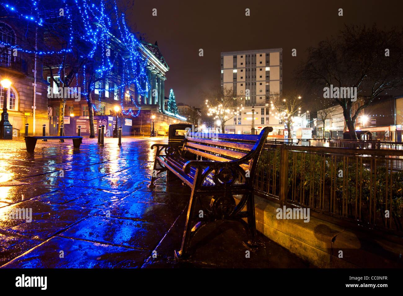 Preston Christmas Lights Stock Photo: 41813515 - Alamy