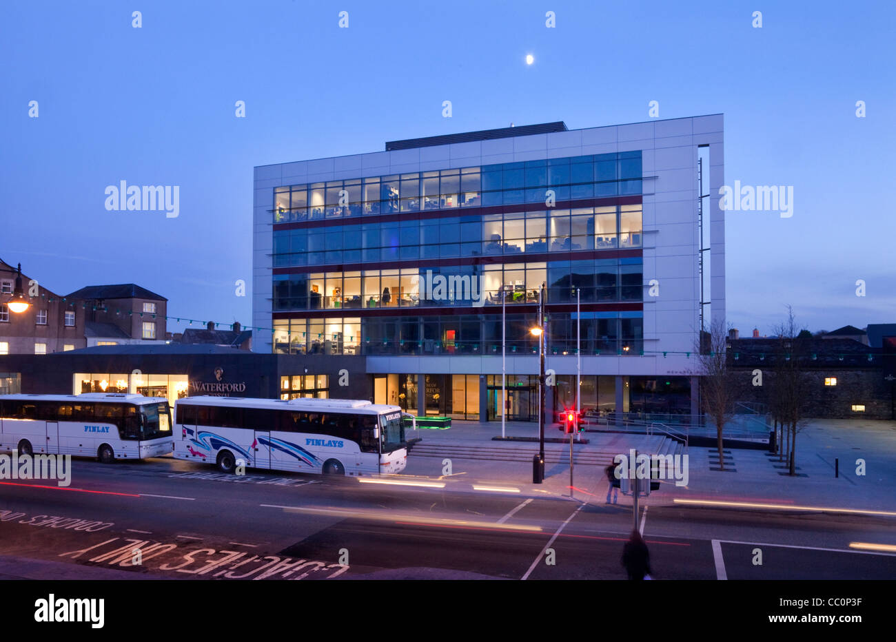 The Waterford Crystal Visitors Centre, Waterford City, Ireland - Stock Image