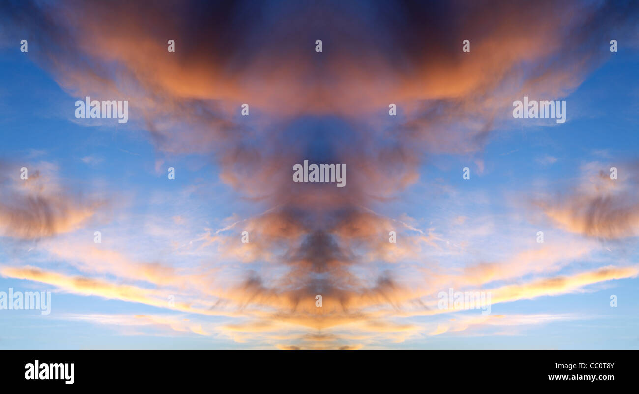 Clouds, Sunset or Morning - Stock Image