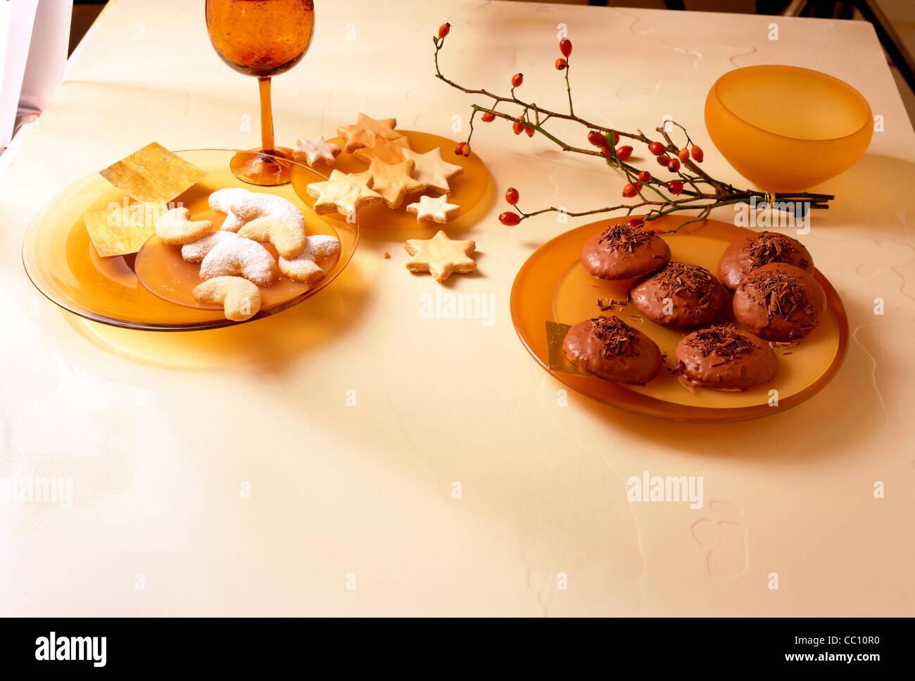Tableau German Vanilla Cookies German Cinnamon Cookies Chocolate