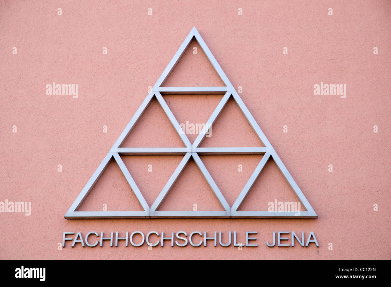Logo of Fachhochschule Jena, University of Applied Sciences, Jena, Thuringia, Germany - Stock Image