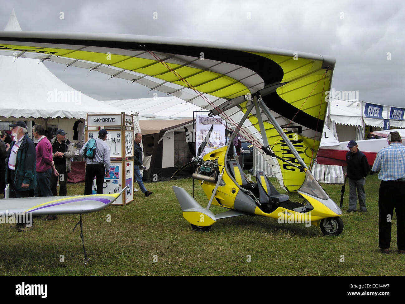 Tanarg/Ixess 15 912S(1) hang glider (G-NARG) at a Popular Flying