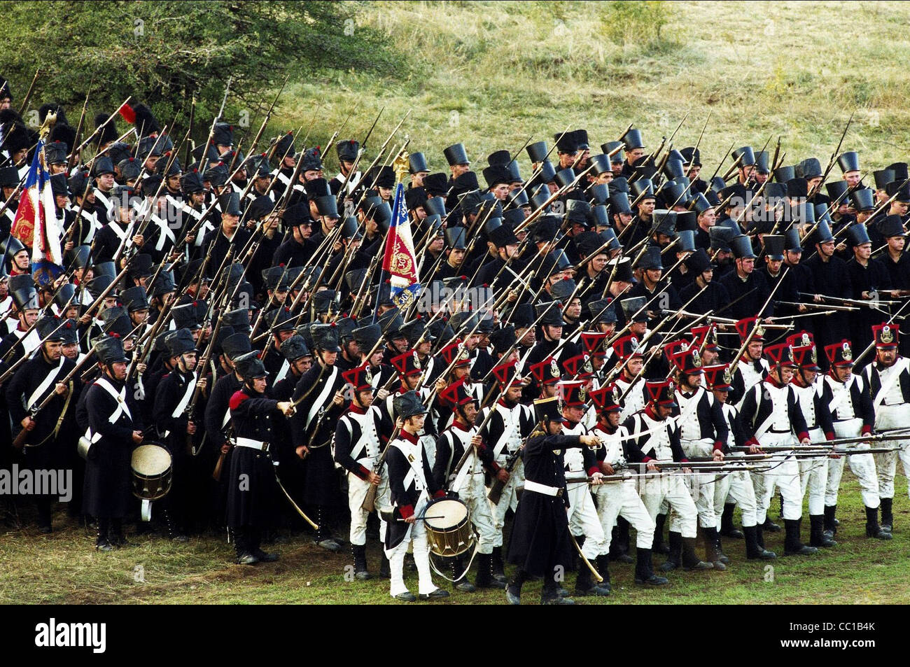 BATTLE SCENE THE BATTLE OF AUSTERLITZ (1960) - Stock Image