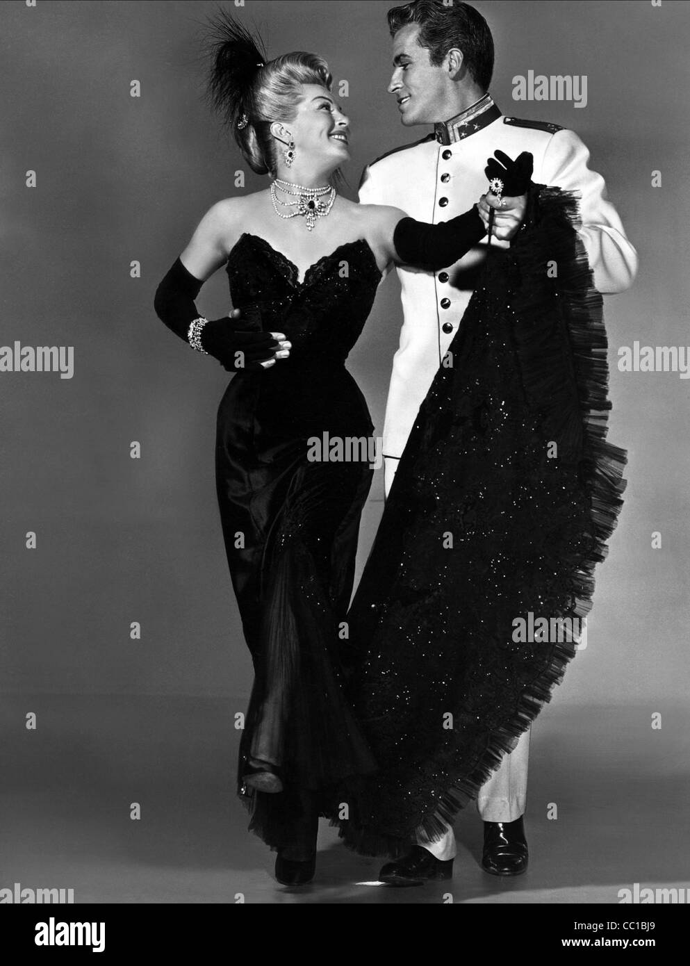 LANA TURNER FERNANDO LAMAS THE MERRY WIDOW 1952
