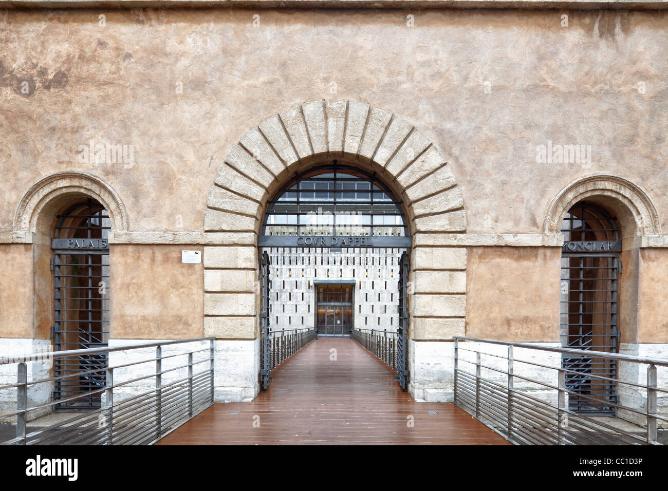 The Appeal Court, Aix-en-Provence, France - Stock Image