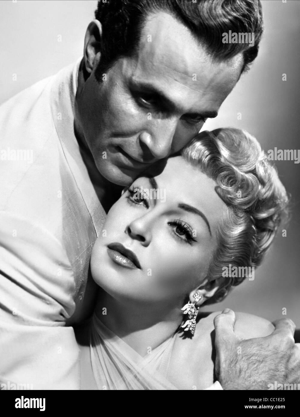 RICARDO MONTALBAN & LANA TURNER LATIN LOVERS (1953) - Stock Image