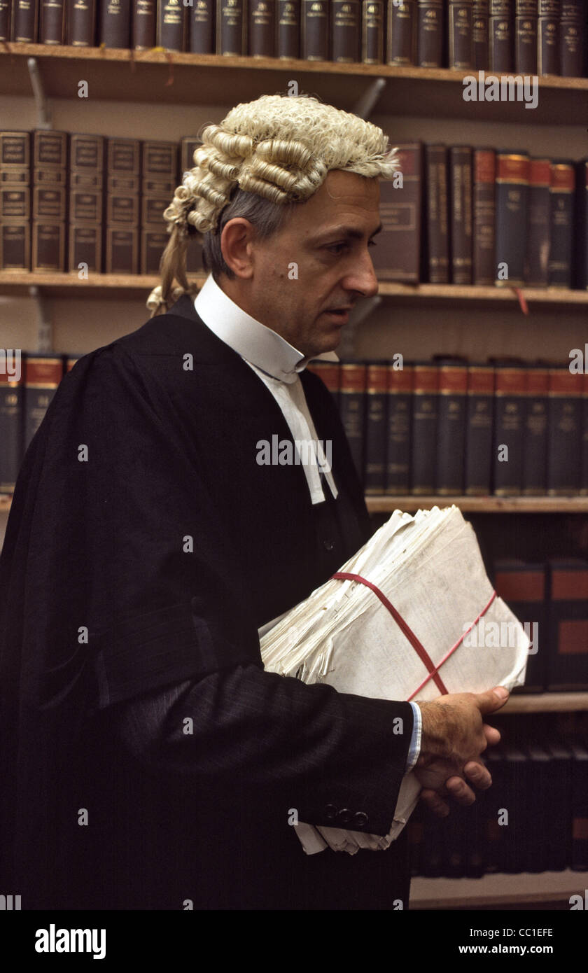 Barrister in wig and gown male Stock Photo  41829970 - Alamy 669f97dc0d87
