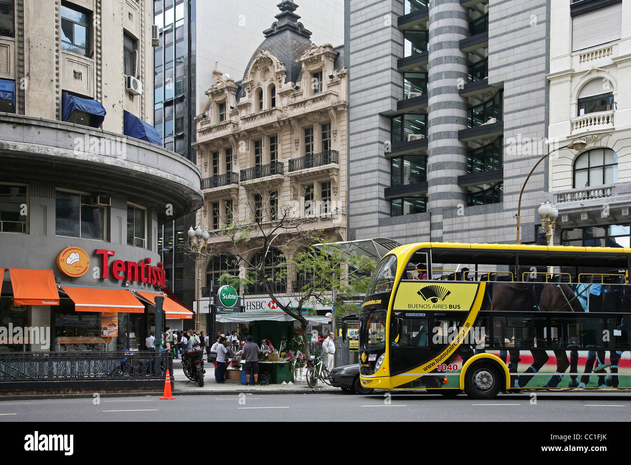 Public transport in Buenos Aires, Argentina - Stock Image