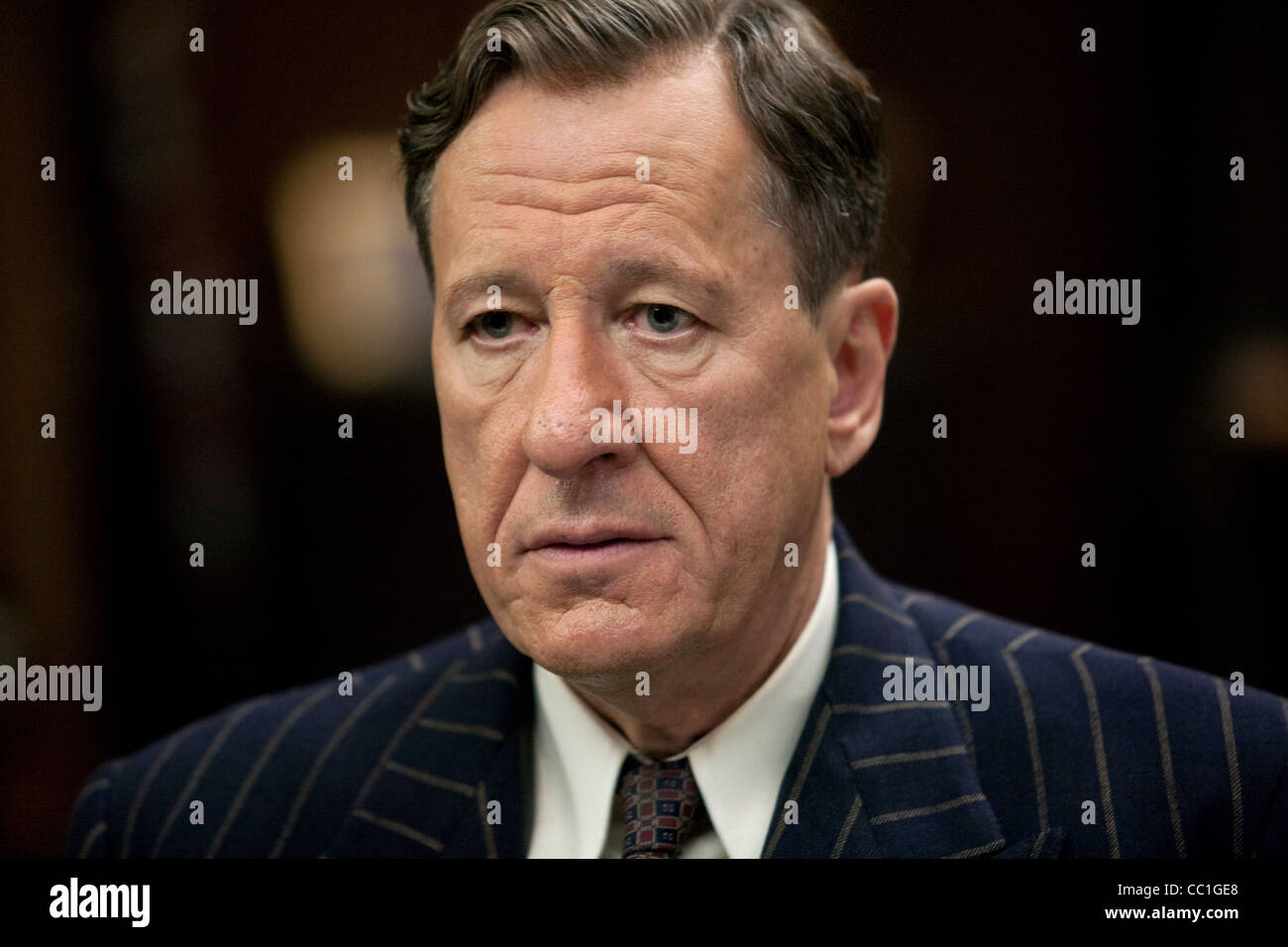 GEOFFREY RUSH THE KING'S SPEECH (2010) - Stock Image