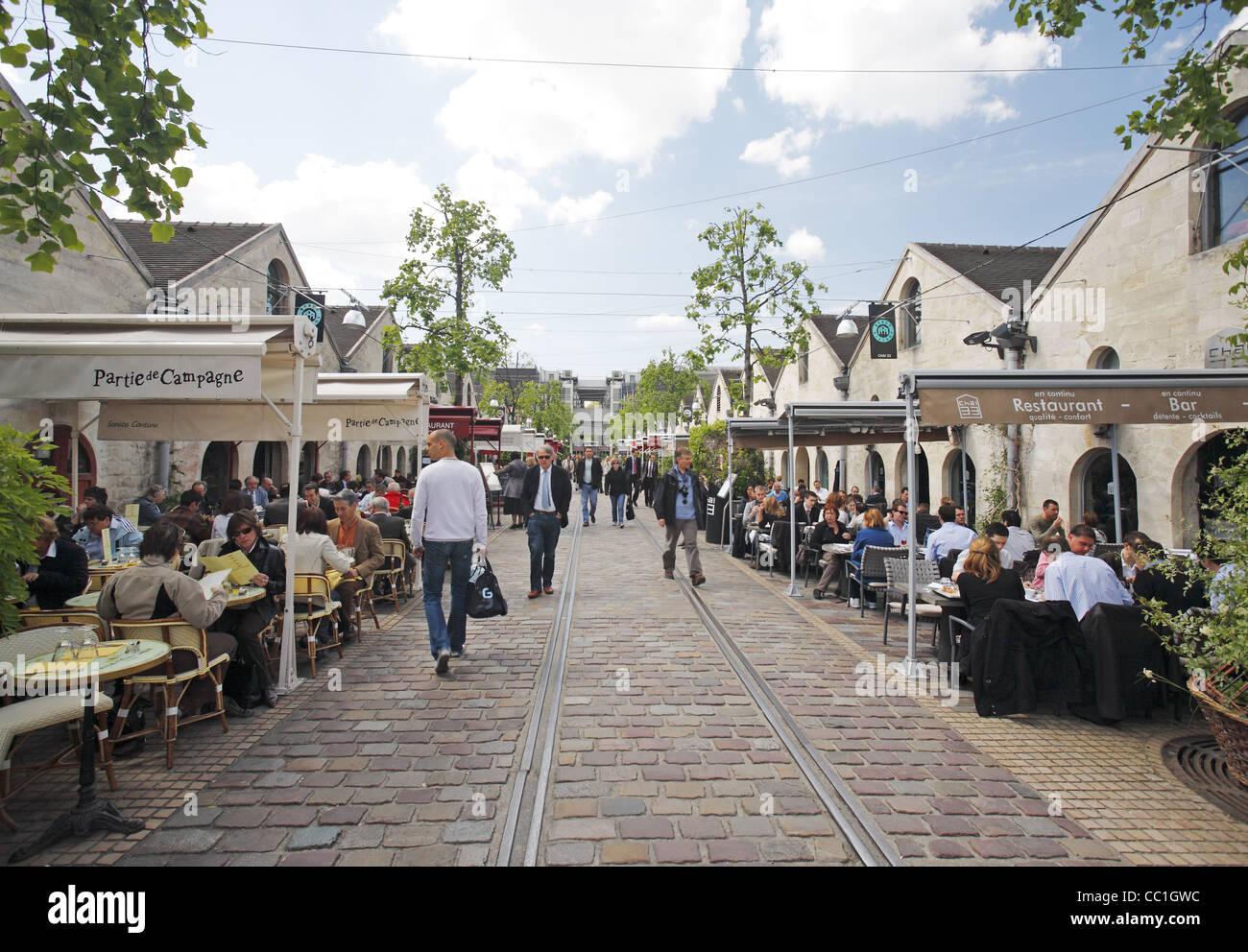 Bercy, Paris, France - Stock Image