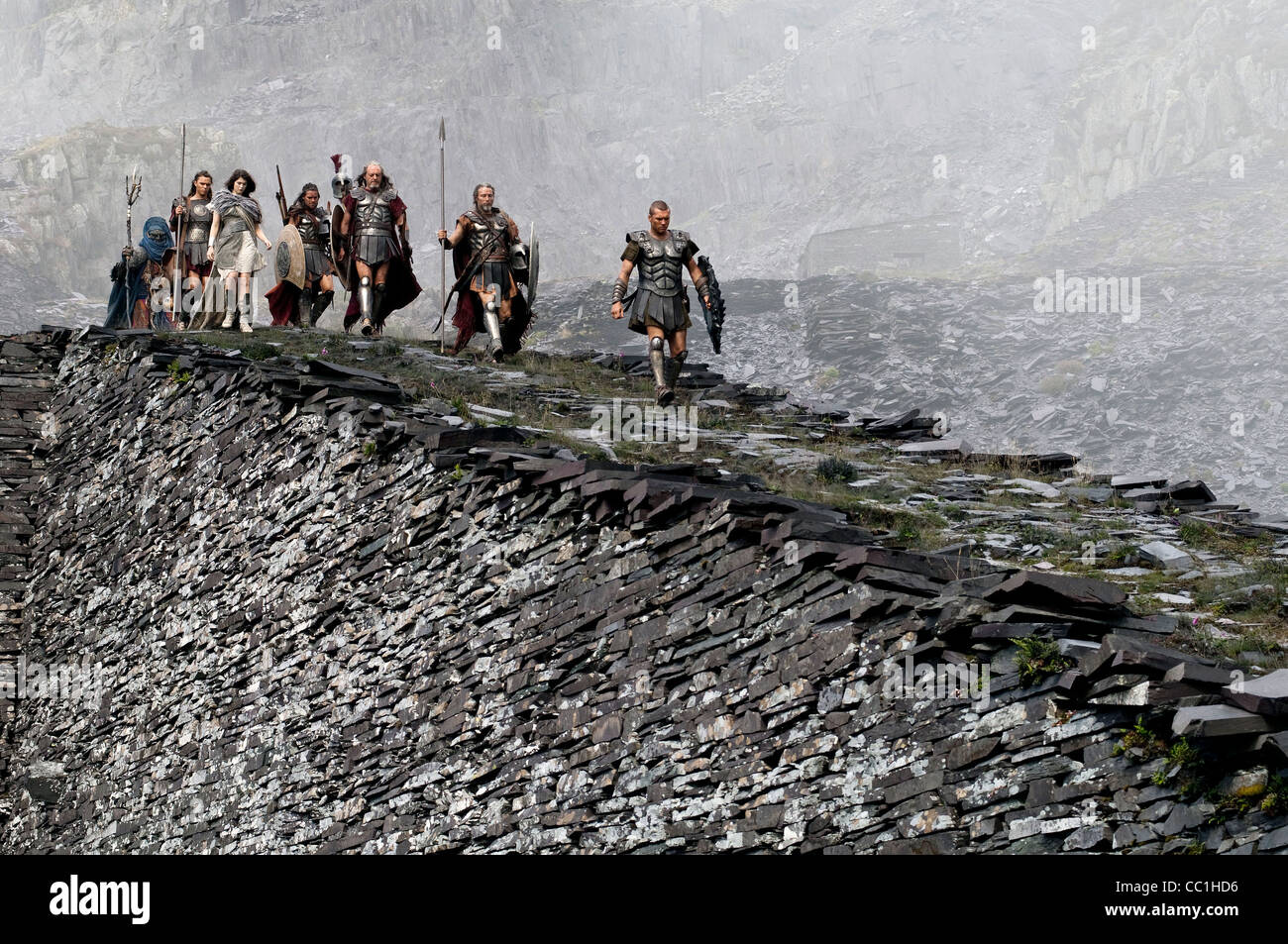 SAM WORTHINGTON CLASH OF THE TITANS (2010) - Stock Image