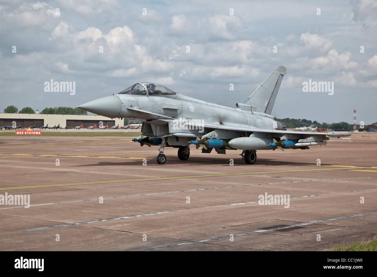 Bae Systems Typhoon - Stock Image