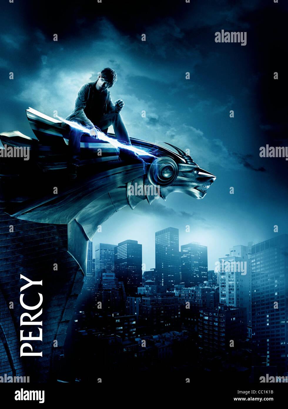 Logan Lerman Poster Percy Jackson The Olympians The Lightning Stock Photo Alamy
